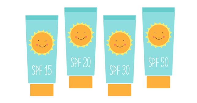 Кремы от солнца с разным spf